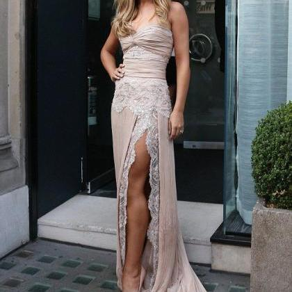 Sexy Split Evening Dresses 2018 Swe..