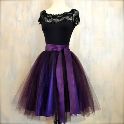 Dark Purple Graduation Dresses 2016..