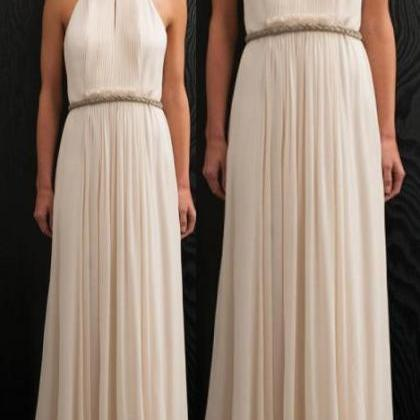 white evening dresses,long prom dre..