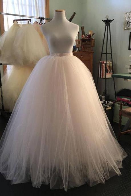 Ball Gown Tulle Skirt For Wedding ,Prom Dresses