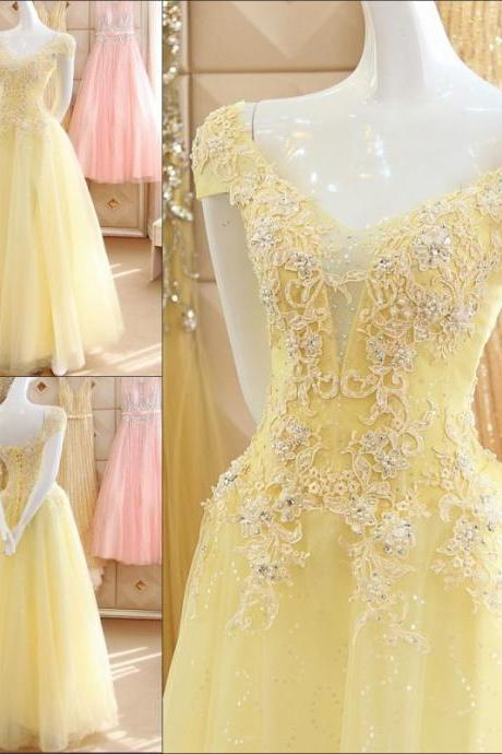 Beaded Short Sleeve A-Line Wedding Dresses 2017 Backless Beading Floor-Length V-Neck 3D-Floral Appliques Wedding Dress Bridal Gown Vestido