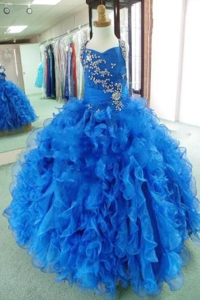 Pageant Blue Halter Neck Piping Ball Gown Cheap Crystals Major Beading Quinceanera Dresses 2016 Wonderful Classic Designer