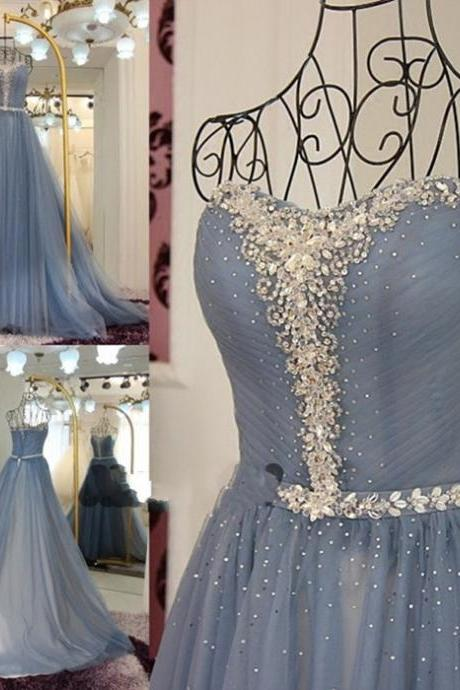 Major Beading Formal Dress Cheap Sequins Dresses Sweetheart Neck Sleeveless Long Prom Dress Count Train 2016 Aline Special Occasion Dress