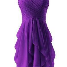 New Purple Homecoming Dresses 2017 Ruffled Sweetheart Semi Formal Dresses Graduation Dress Vestido short mini Prom Dress juniors Party Gowns